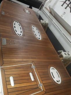 teak refinish cetol deck cruiser